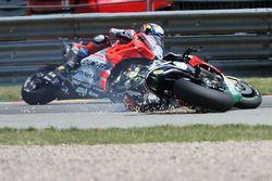 La caduta di Cal Crutchlow, Team LCR Honda