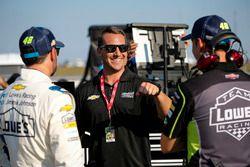Jimmie Johnson, Hendrick Motorsports, Chevrolet Camaro Lowe's / Jimmie Johnson Foundation, Chad Knaus, and Ryan Patton