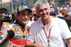 Il vincitore della gara Marc Marquez, Repsol Honda Team, Mick Doohan