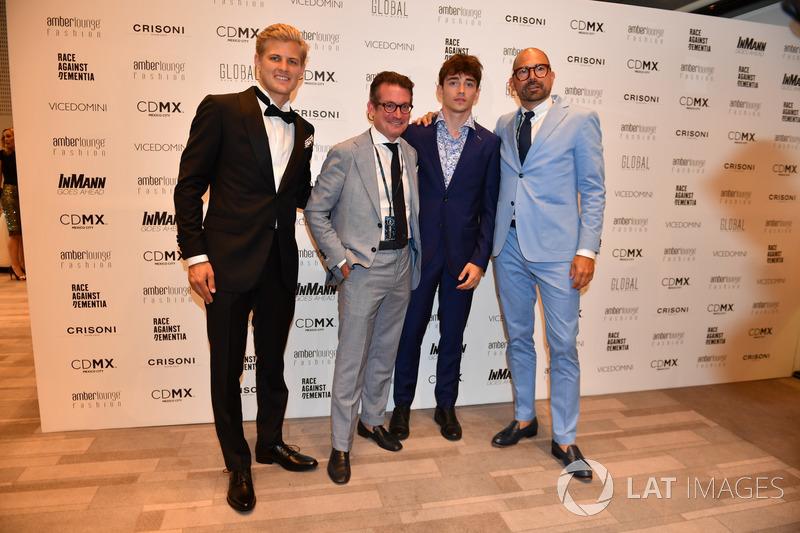 Marcus Ericsson, Sauber y Charles Leclerc, Sauber