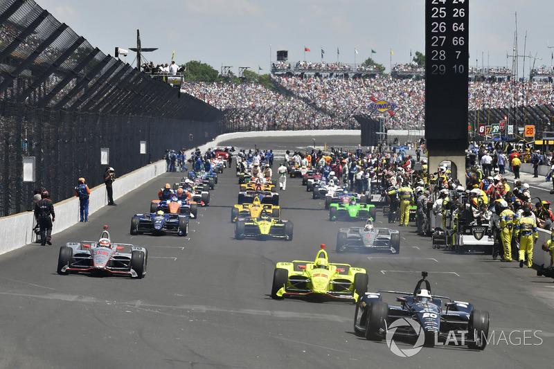 Ed Carpenter, Ed Carpenter Racing Chevrolet, Simon Pagenaud, Team Penske Chevrolet, Will Power, Team Penske Chevrolet