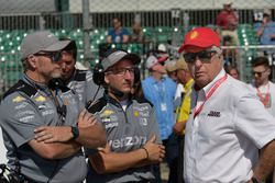 Josef Newgarden, Team Penske Chevrolet crew, Roger Penske