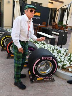 Jackie Stewart, avec les pneus Pirelli 2018