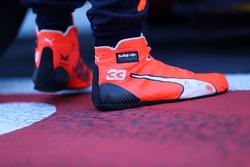 Les chaussures de Max Verstappen, Red Bull Racing