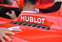 Ferrari SF70H, side cooling detail