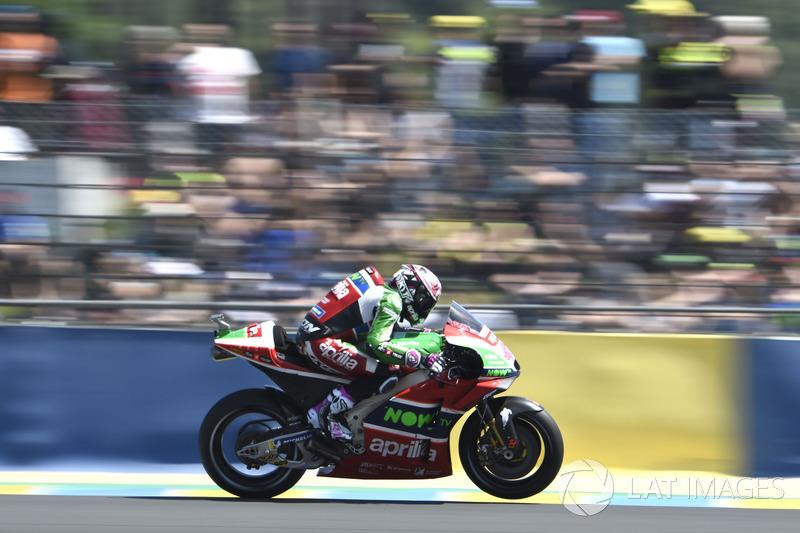 9. Aleix Espargaro, Aprilia Racing Team Gresini