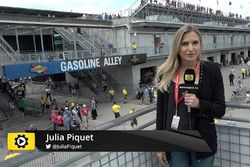 Julia Piquet at Indianapolis Motor Speedway