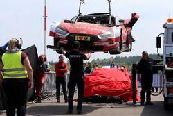 سيارة رينيه راست، أودي بعد الحادث