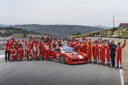 Ferrari Challenge grup fotoğrafı