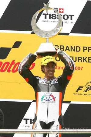 Podium : Andrea Dovizioso, Honda