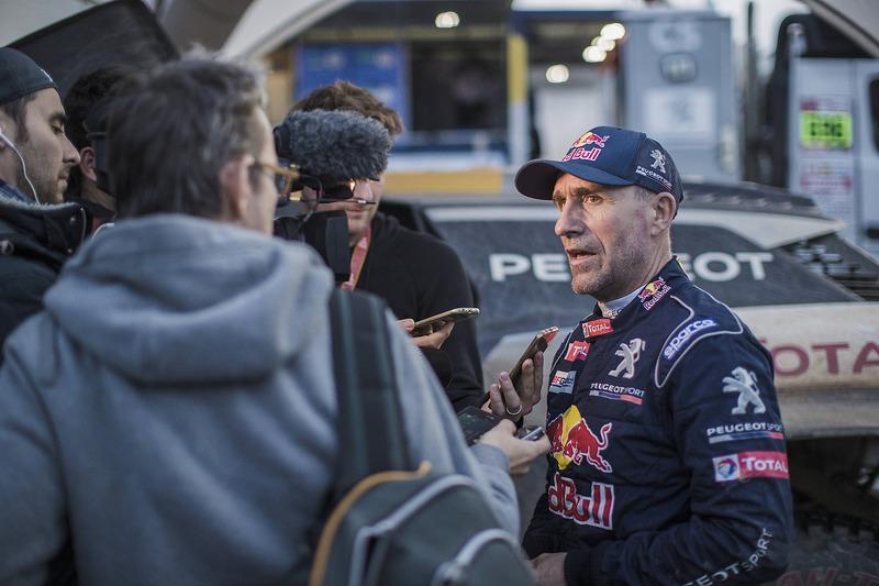 Stéphane Peterhansel, Peugeot Sport