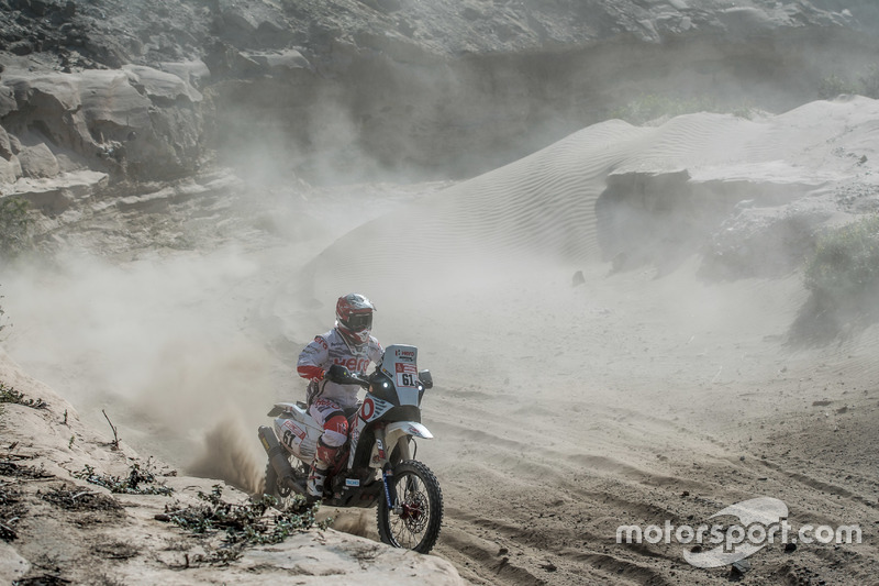 #61 Hero MotoSports Team Rally: Oriol Mena
