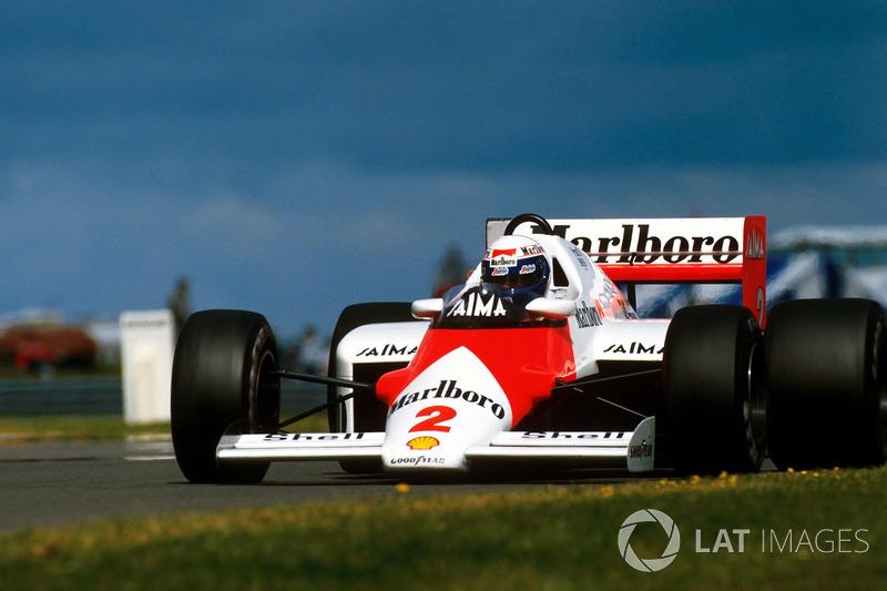 1985 : McLaren MP4/2B - TAG Porsche