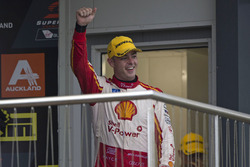 Podium: second place Scott McLaughlin, Team Penske Ford