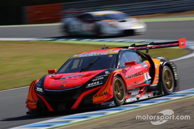 Томоки Нодзири и Такуя Изава – Autobacs Racing Team Aguri, №8 (Honda NSX-GT)