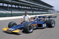 Mark Donohue, Penske Racing, mit Roger Penske