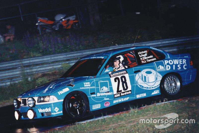 1997: Johannes Scheid, Sabine Reck, Hans-Jürgen Tiemann, Peter Zakowski (BMW M3 E36)