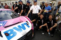 #24 Audi Sport Team BWT Mücke Motorsport Audi R8 LMS GT3: Markus Winkelhock, Mike Rockenfeller