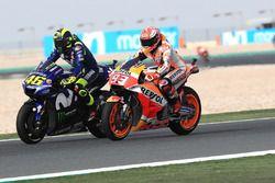 Valentino Rossi, Yamaha Factory Racing, Marc Marquez, Repsol Honda Tea