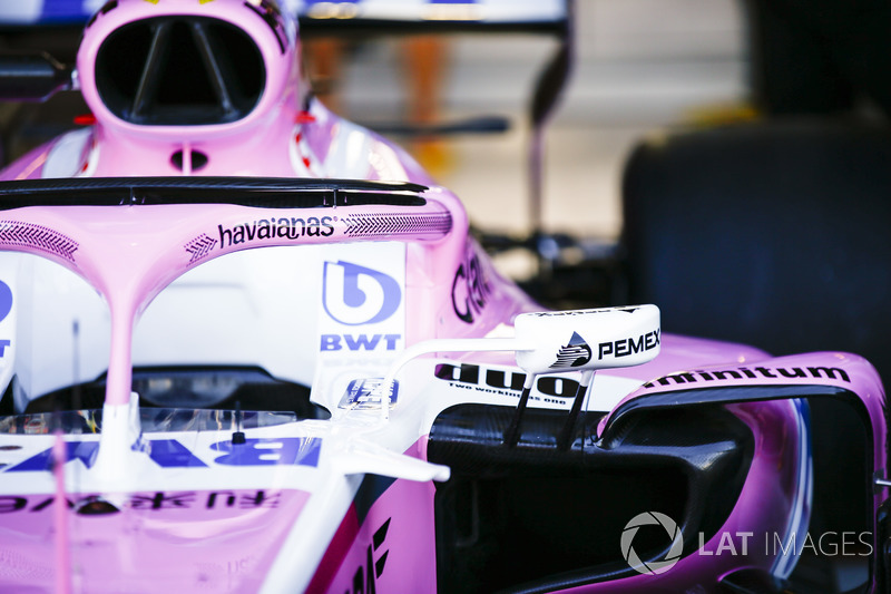 Patrocinio Havaianas en el Force India