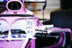 Sponsor Havaianas sulla  Force India