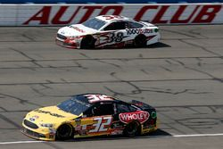Matt DiBenedetto, Go FAS Racing, Ford Fusion Can-Am/Wholey, David Ragan, Front Row Motorsports, Ford