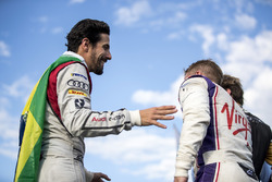Lucas di Grassi, Audi Sport ABT Schaeffler, Sam Bird, DS Virgin Racing, podyumda
