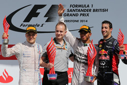 Podium: 1. Lewis Hamilton, Mercedes; 2. Valtteri Bottas, Williams; 3. Daniel Ricciardo, Red Bull
