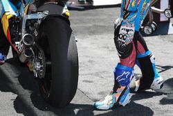 Dettaglio dello pneumatico posteriore di Alex Marquez, Marc VDS