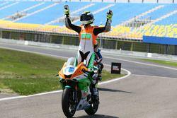 Le vainqueur en Supersport Jules Cluzel, NRT