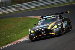 #5 Mercedes-AMG Team Black Falcon Mercedes-AMG GT3: Yelmer Buurman, Thomas Jäger, Jan Seyffarth