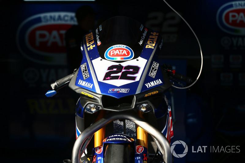 Alex Lowes, Pata Yamaha bike
