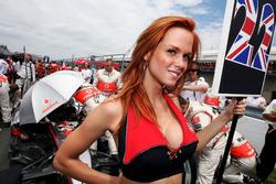 Grid kızı, Lewis Hamilton, McLaren
