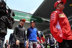 Стоффель Вандорн, McLaren, и Брендон Хартли, Scuderia Toro Rosso