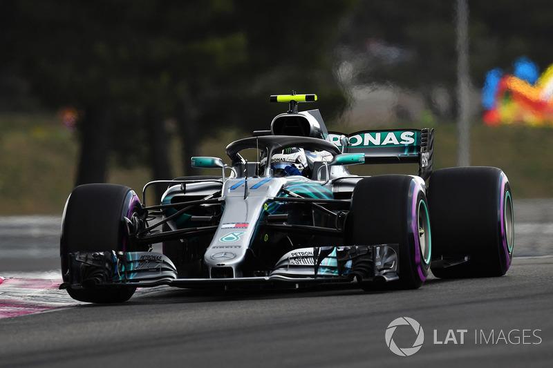 7. Valtteri Bottas, Mercedes-AMG F1 W09