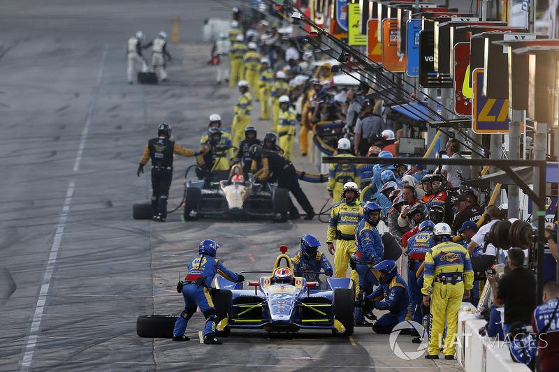 Pit stop Alexander Rossi, Andretti Autosport Honda