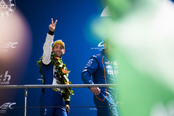 LMP2 podium: second place Nicolas Lapierre, Andre Negrao, Pierre Thiriet, Signatech Alpine