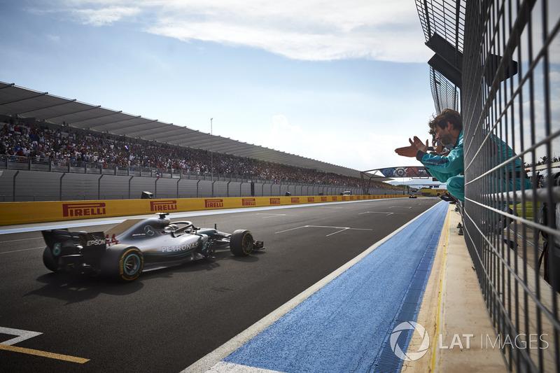 2018 Lewis Hamilton, Mercedes AMG F1 W09