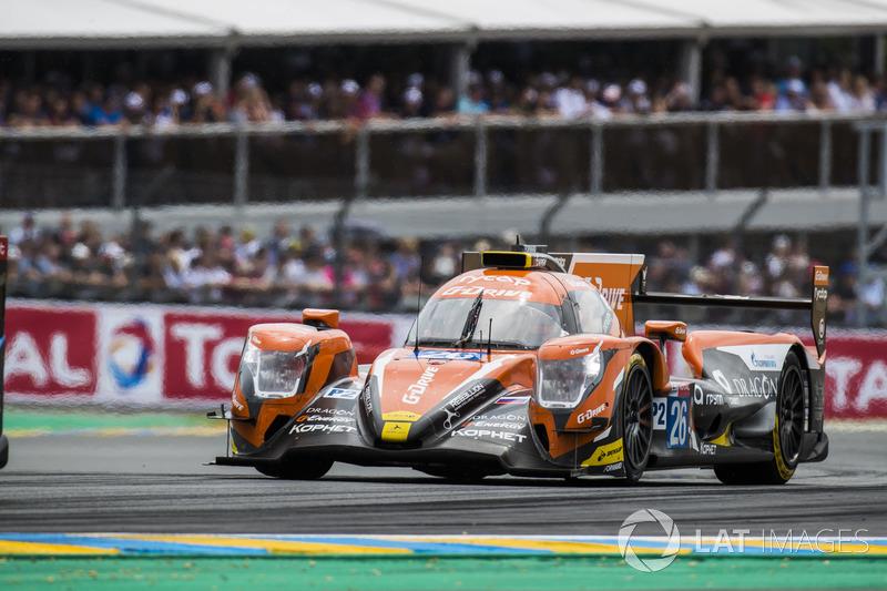 В LMP2 лидерство сразу захватил экипаж G-Drive Racing