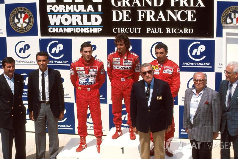 17. GP de Francia 1988: Alain Prost y Ayrton Senna (McLaren)