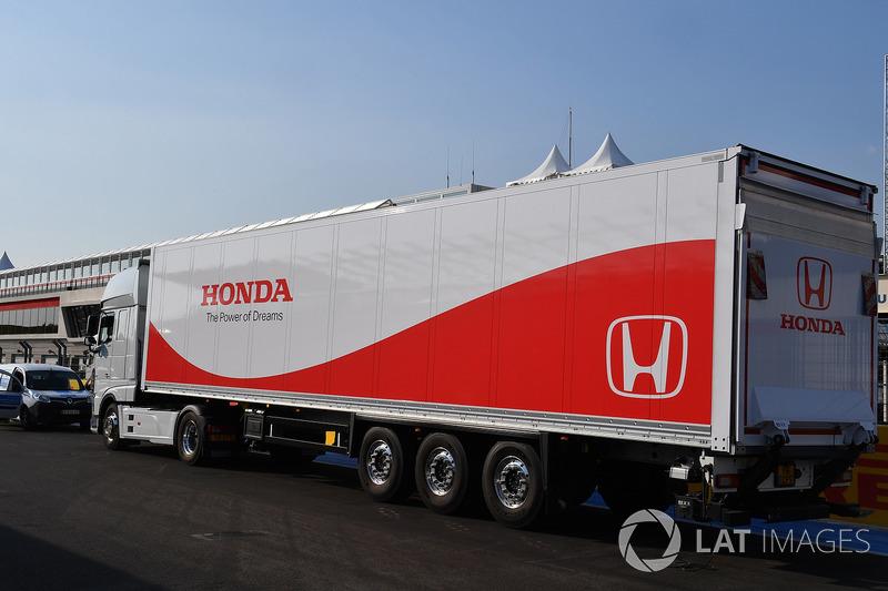 Honda camión