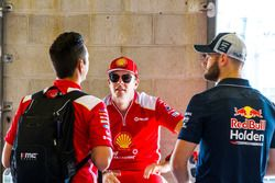 Scott McLaughlin, DJR Team Penske Ford Shane van Gisbergen, Triple Eight Race Engineering Holden Fabian Coulthard, DJR Team Penske Ford