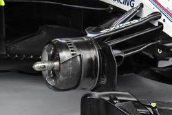 Williams FW41 front brake