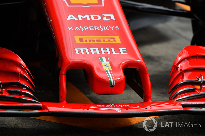 Ferrari SF71H nose detail