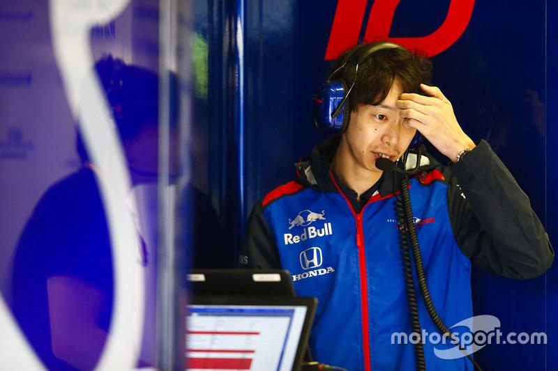 A Honda team member at work