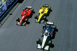 David Coulthard, McLaren MP4/14, Eddie Irvine, Ferrari F399, Heinz-Harald Frentzen, Jordan 199