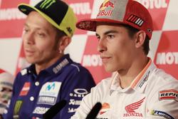 Basın toplantısı,, Marc Marquez, Repsol Honda Team, Valentino Rossi, Yamaha Factory Racing