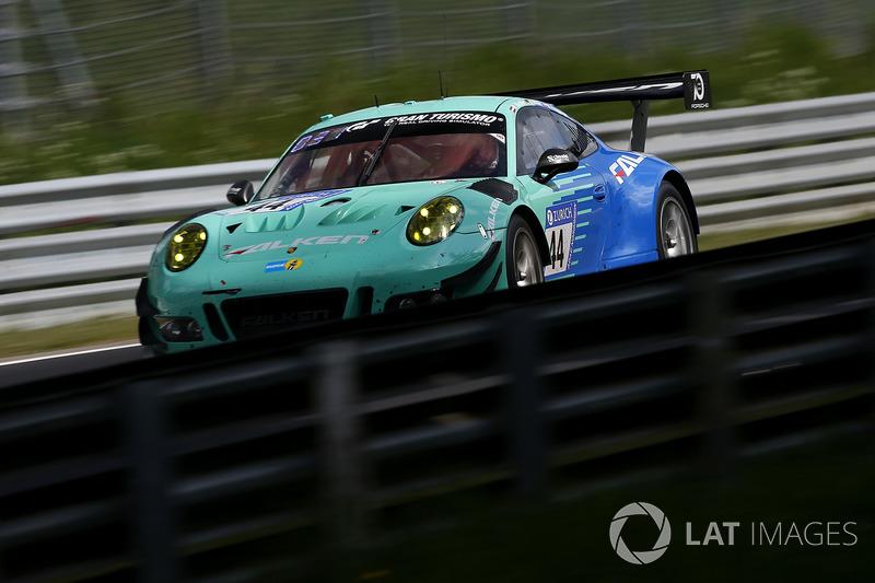 9. #44 Falken Motorsports Porsche 911 GT3 R: Klaus Bachler, Sven Müller, Martin Ragginger, Dirk Werner
