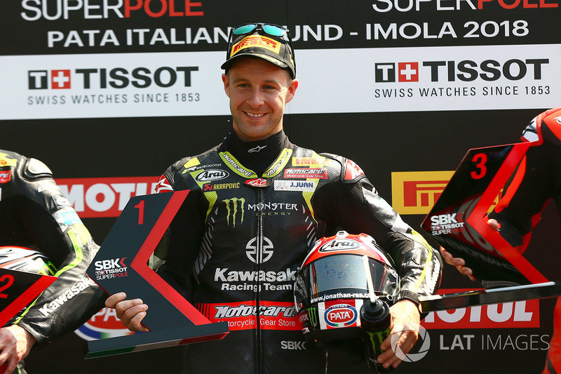 El poleman, Jonathan Rea, Kawasaki Racing