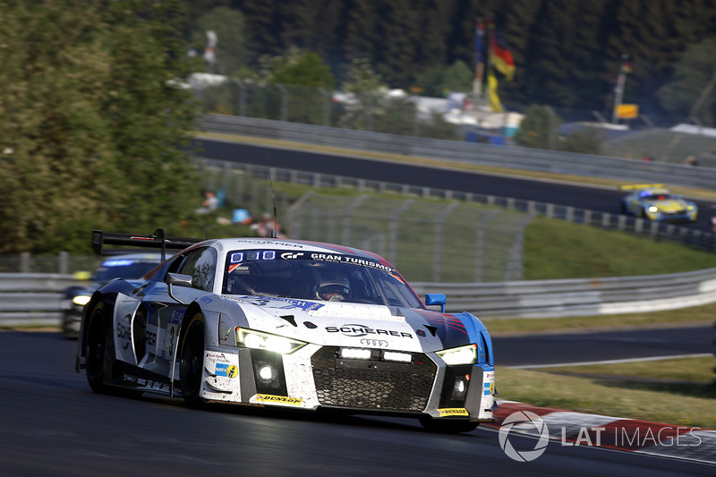 6. #3 Audi Sport Team Phoenix Audi R8 LMS GT3: Christopher Haase, Frank Stippler, Frederic Vervisch, Nico Müller